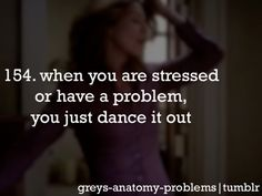 Dance it out! Grey's Anatomy Style