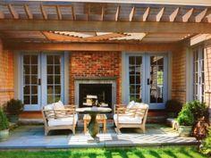 Pergola patio-exactly what i want to do!