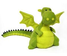 Oh he is the cutest stuffed dragon I've seen in a little while!!! and a pattern to boot! think I'll get started early on some Christmas presents!!!