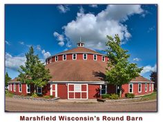 The Round Barn of Marshfield is supposed to be the worlds largest. I believe the diameter is 150 ft.
