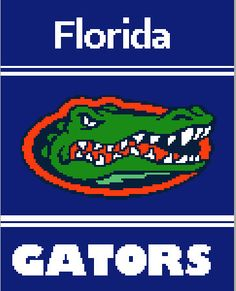 Florida Gators Graph/Chart by knitcreations86 on Etsy