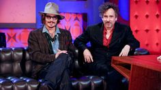 february appearance on 'friday night with jonathan ross' Tim Burton Johnny Depp, Jonathan Ross, Couples, Sexy, Fictional Characters, February, Friday, Night, Tv