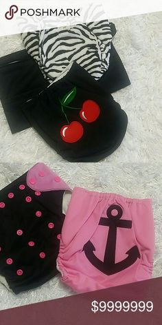 Custom listing Cloth diapers Accessories Diaper Covers