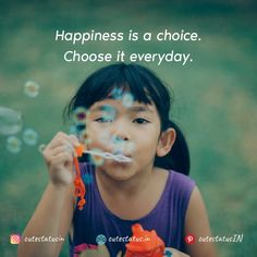 Happiness is a choice. Choose it everyday. #Life #LifeQuotes #LifeStatus #Happiness #Choice Raising An Only Child, Before Kindergarten, Minute To Win It, Only Play, Language Development, Child Development, Choose Joy, Third Way, Financial Literacy