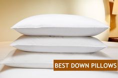 TOP 7 Best down pillows available for you online. Pick the best, the comfiest down pillow and enjoy the blissful snooze every night. Best Down Pillows, Best Pillow, Feather Pillows, Down Feather, Head And Neck, Pillow Sale, Cool Tattoos, Pop Culture, Bedding