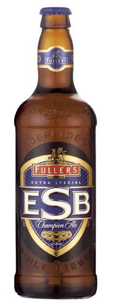Cerveja Fuller's ESB, estilo Extra Special Bitter/English Pale Ale 5.9%