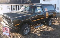 1980 Ramcharger Plymouth Muscle Cars, Dodge Ramcharger, Real Steel, Dodge Power Wagon, Dodge Trucks, Ford Bronco, Future Car, Cummins, Cool Trucks