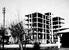 Florida Memory - Skeleton of uncompleted hotel - Fort Meade, Fla. [I heard about the Skeleton Hotel my whole life--glad to finally see a photo of it]. Fort Meade, Vintage Florida, Skeleton, Memories, In This Moment, History, City, Nature, Image
