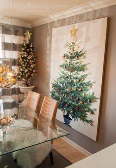 Blogger Stylin Christmas Home Tour 2013 |Cuckoo 4 Design