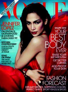 Jennifer Lopez latest Vogue cover