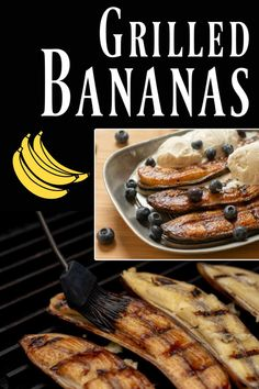 Looking for one of the easiest BBQ desserts known to modern society? ������ Check out how fast these Grilled Bananas are to make! In under 10 minutes, you'll have delicious cinnamon and honey bananas. Add some vanilla ice cream and your family will go WILD! via @kitchen laughter #NutritionProducts Best Nutrition Food, Best Diet Foods, Best Diets, Health And Nutrition, Nutrition Products, Nutrition Articles, Nutrition Guide, Health Diet, Banana Honey Cinnamon