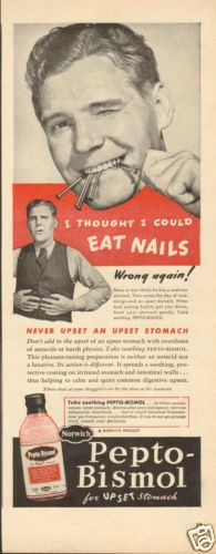Vintage Ads = <3... and a Pepto one? Even Better