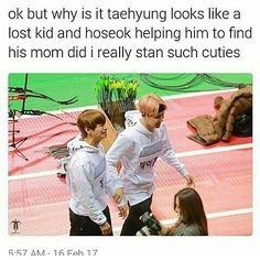 I don't doubt that is exactly what happened. Jin probably walked off to buy some lunch and Tae got distracted by a lintball on the side of the track.