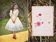 Wizard of Oz inspired invitation; photography: Dana Grant Photography  | Green Wedding Shoes
