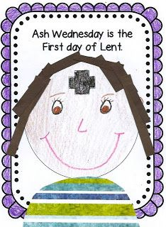 Faith Filled Freebies: Ash Wednesday Craft