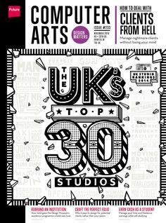#Computer #Arts Magazine 233. Top #UK's 30 #Studios! #Rebrand an institution!