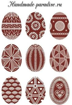 Pisanki - the decorated Easter eggs in Poland Here you'll find informations about Polish pisanki (decorated Easter eggs): Short history 8 types of Polish Easter eggs Patterns Gallery of Polish pisanki Egg Crafts, Easter Crafts, Polish Easter, Easter Egg Pattern, Carved Eggs, Easter Egg Designs, Ukrainian Easter Eggs, Diy Ostern, Festa Party