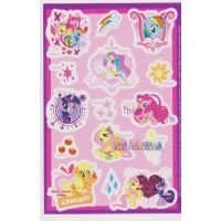 My Little Pony 'Friendship is Magic' Stickers (2 sheets)