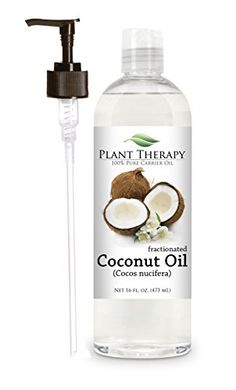 $12.75 - Coconut (Fractionated) Carrier Oil & Pump | To dilute your oils and for roller bottles