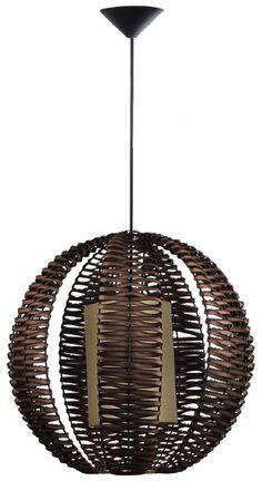 Finally replaced the yuck chandelier with this much betta pendentes de fibra rattanbamboochandeliersbrownstuff aloadofball Images