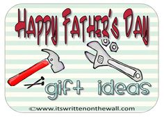 Father's Day: Cards, Printables, Cupcake Toppers & Cool Photo Card