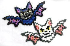 Qui a peur des perles Hama ? le retour de la sélection Halloween chauve souris perler beads perles a repasser