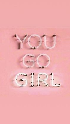 You go girl Frühling Wallpaper, Power Wallpaper, Pink Wallpaper Iphone, Bedroom Wall Collage, Photo Wall Collage, Picture Wall, Wallpaper Minimalista, Images Murales, Style Parisienne