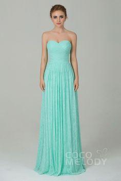 Fantastic+Sheath-Column+Sweetheart+Natural+Floor+Length+Lace+Sleeveless+Lace+Up-Corset+Bridesmaid+Dress+COZK16013