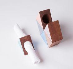 triangular napkin holders