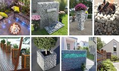 20 Fabulous Gabion Ideas for Your Outdoor Area - The ART in LIFE