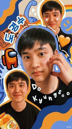 Kyungsoo, Exo Chanyeol, Exo Ot12, Kaisoo, K Pop, Exo Stickers, Beatiful People, Popteen, Exo Lockscreen
