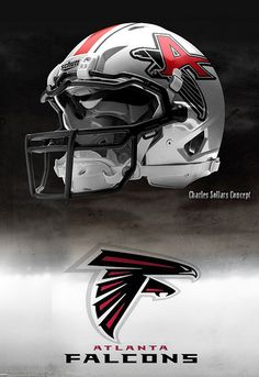 Falcons helmet concept- not a fan but this is sweet.