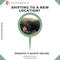 Shifting To A New Location? Request A Quote Online: Relocation Services, Company Names, Transportation, Ocean, Quote, Business Names, Quotation, Sea, Qoutes