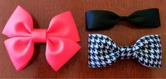 Super easy tutorial for making your own hair bows!