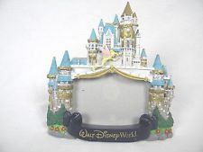 Walt Disney World Picture Frame ceramic Tinker Bell Castle Tink