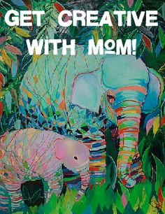 This #MothersDay, bring your sweet mama in to paint at @Vino and van Gogh