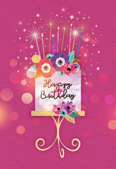 Online Happy Birthday Card Maker With Photo - online happy birthday card maker with photo Happy Birthday 40, Happy Birthday Pictures, Happy Birthday Messages, Birthday Fun, Happy Birthday Female, Happy Birthday Sparkle, Vintage Birthday, Unicorn Birthday Meme, Happy Birthday Wishes Cousin