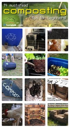 Tips and tricks to composting.
