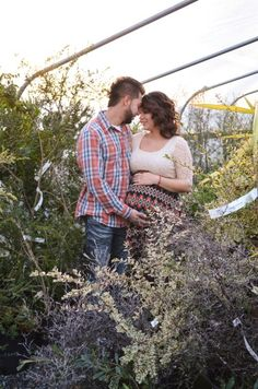Gorgeous greenhouse maternity photo session.  Maternity photography | lifestyle | Skagit Valley,  Washington | Pacific Northwest | K&A Photography | kaphotog.weebly.com