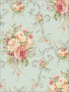 wallpaperstogo.com WTG-106246 Seabrook Designs Traditional Wallpaper