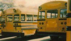 Old School Bus, School Buses, School Bus Driver, Vintage School, Busses, Ol Days, Aesthetic Grunge, Good Ol, Vintage Cars