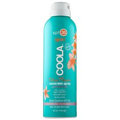 Coola - Sport Continuous Spray SPF 30 - Citrus Mimosa #sephora