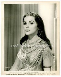 8x080 DEBRA PAGET 8x10 still '56 close up in costume as Lilia from The Ten Commandments!