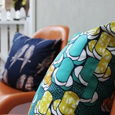 Peace Exchange: Fair trade cotton pillows in gorgeous colors that support women