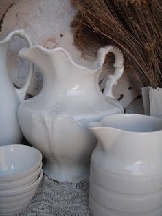 Ironstone........so soft looking, simple and in a way elegant.
