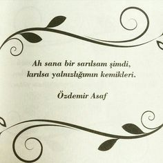Ah aşk! I Hug You, Meaningful Words, Loneliness, Beautiful Words, Couple Goals, Poems, Place Card Holders, Love, Feelings