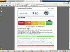 Experian Credit Score Range Bands Credit Ratings