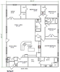Steel Home Plans barndominium floor plans | barndominium floor plans. 1-800-691