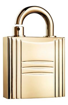 GWP or LE Hermès Padlock Perfume Case. The Padlock Perfume Case comes in gold and silver finishes and will fit scents such as Calèche, Parfum des Merveilles, 24 Faubourg, and Kelly Calèche. Hermes Parfum, Perfume Hermes, Perfume Diesel, Perfume Bottles, Perfume Atomizer, Nordstrom, Beautiful Perfume, Fragrance Parfum, Perfume Collection