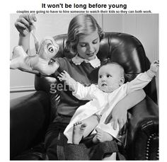 It won't be long before young ........